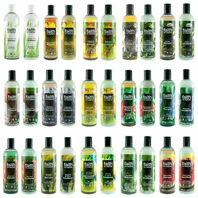 Faith In Nature Shampoo 400ml & Condtioner 400ml Duo Pack - Various Scents