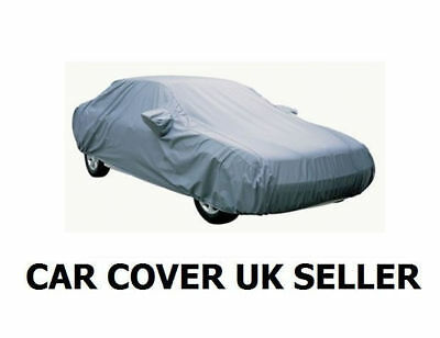 Waterproof Car Cover Outdoor Indooor Uv Rain Breathable Extra Large Xl Size Grey