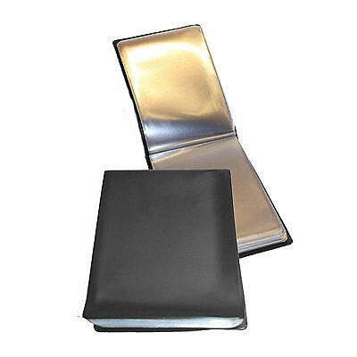 Deluxe BLACK 40 Page A6 NYREX / NIREX Orders Book Folder ( Military 100% UK Made