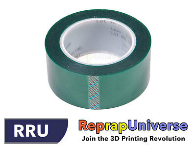 High Temperature Resistant PET Tape for ABS/PLA - 50 mm / 66 m - 3D Printing