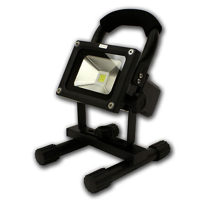 Portable Outdoor Camping Security 10W Rechargeable LED White Flood Light Lamp B