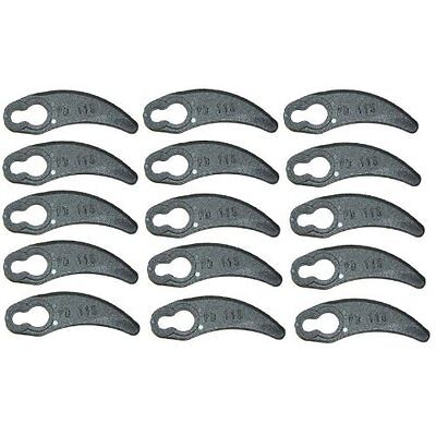 Pack Of 20 Plastic Cutting Blades Fits Challenge 1100W Hover Lawnmower
