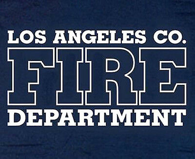 Los Angeles County Fire Department T-shirt - Size L