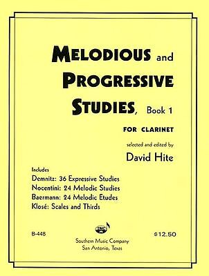 Melodious And Progressive Studies Book 1 - Clarinet Method Book 3770637