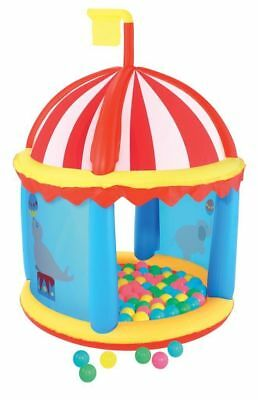 Bestway Inflatable Fort With Game Balls Inflatable Ball Pit Playhouse