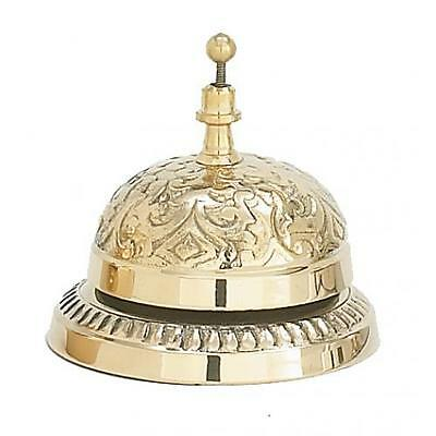 Brass Victorian Hotel Bell Antique Style Store or Shop Attention Service Bell