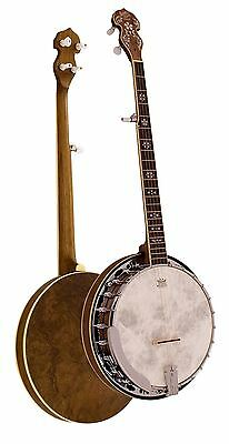 Barnes & Mullins Banjo 5-String Empress Model Walnut Rosewood Maple Chrome