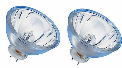 2 x Osram Projection Lamp Bulb A1/271 12V 100W GZ6.35 Dichroic 64637 MR16 LAA271