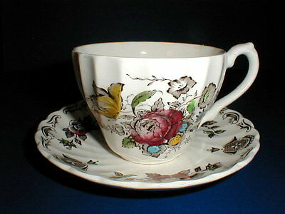 Myott China Staffordshire BOUQUET Cup/Teacup Only EXC