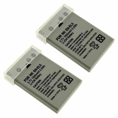 2x EN-EL5/CP1 Li-on Battery For Nikon CoolPix 5900 7900 P5000