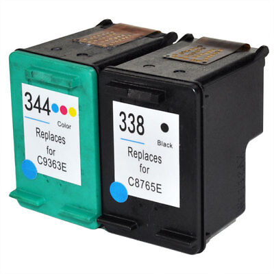 Remanufactured Black & Colour Text Quality Ink Cartridges for HP Officejet H470
