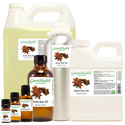 Anise Star Essential Oil 100% Pure 5ml-1gallon Free shipping