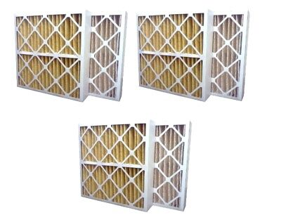 3 Pack High Quality Genuine MERV 11 Pleated Furnace Filters - 16x20x4