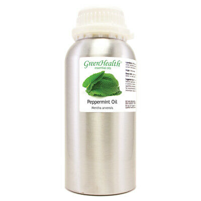 16 fl oz Peppermint Essential Oil 100% Pure - GreenHealth