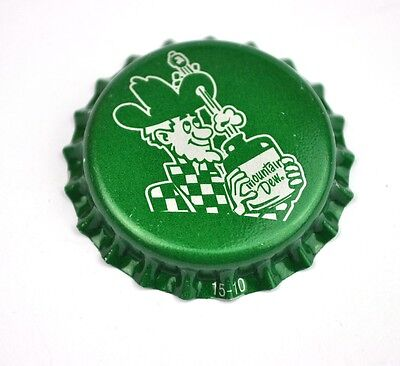 Vintage Pepsi Cola Mountain Dew Kronkorken USA Bottle Soda Cap Hillbilly