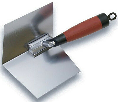 "New MARSHALLTOWN 23D 4"" by 5"" Inside Drywall Corner Trowel with DuraSoft Handle*"
