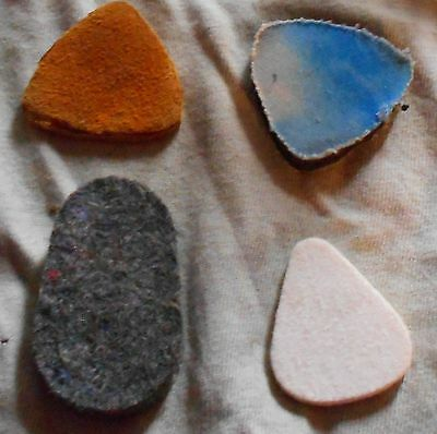 Assorted Custom-made/Commercial Picks - Pack of 4