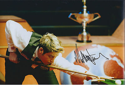 Matthew Stevens IN PERSON SIGNED Autograph 12x8 Photo AFTAL COA Snooker Player