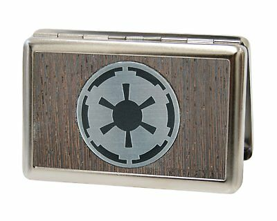 Star Wars Galactic Empire Cog Symbol Metal Business and Credit Card Holder NEW