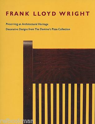 Frank Lloyd Wright - Furniture Lighting Stained Glass Décor / Scarce Illust Book