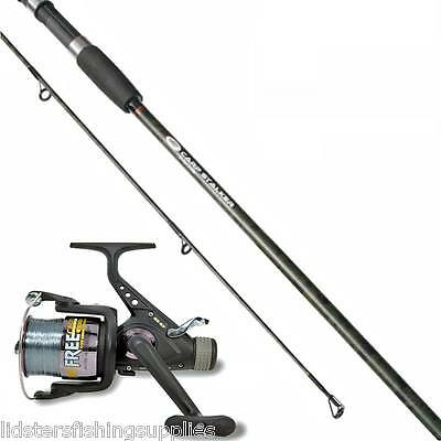 Ngt Carp Fishing Stalker Camo Rod 2Pc 8Ft + 3Bb Free Carp Fishing Reel