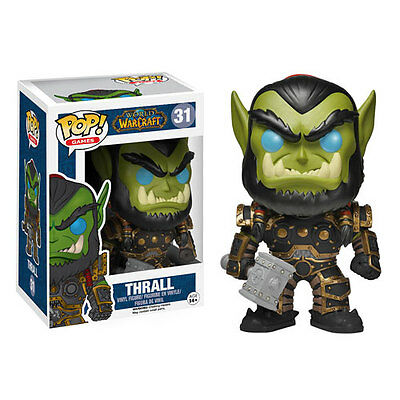 FUNKO POP GAMES: WOW THRALL FIGURE, New