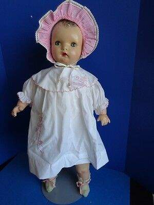 """Vintage 26""""  Composition Baby Doll- Unmarked"""