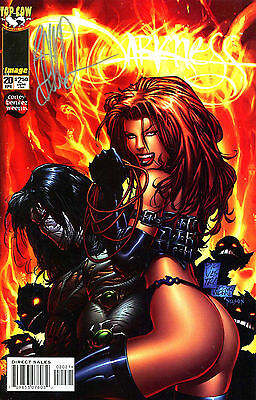 The Darkness #20 Signed By Artist Joe Benitez (Lg)