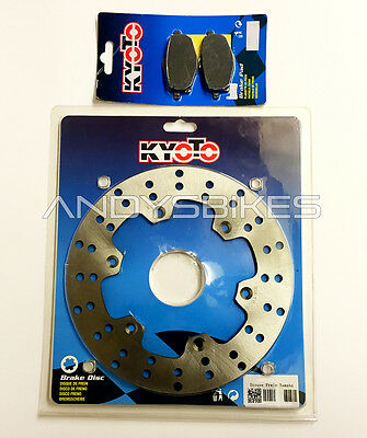 Heavy Duty Rear Back Brake Disc & Pads for Yamaha DT125R DTR125 DTR DT 125 R RE