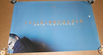 Pete Townshend Psychoderelict Original Promo Poster 30x20 The Who