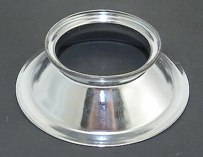 """Deep Flange Steel 6"""" Adapter for Speed Ring Soft Box Softbox / Photogenic Flash"""