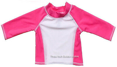CLEARANCE~Baby /Infant Toddler Boys Girls Swim Top~Long Sleeve Rashguard~UPF 50+