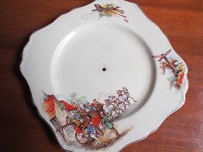 Vintage J & G Meakin Sunshine Pickwick Cake Plate Replacement