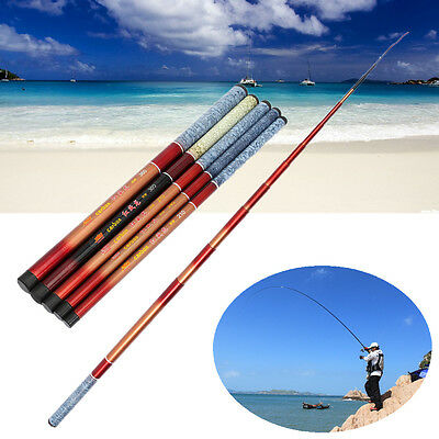 2.1m-3.6m Mini Pocket Portable Glass Fiber Telescopic Fishing Rod Pole Camping
