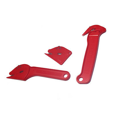 Box Slitter Cutting Tool Cutter, Adhesive Sign Vinyl Safety Blades Straight Cut