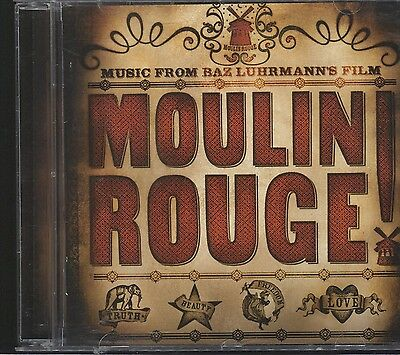 Moulin Rouge Original Soundtrack - Moulin Rouge CD