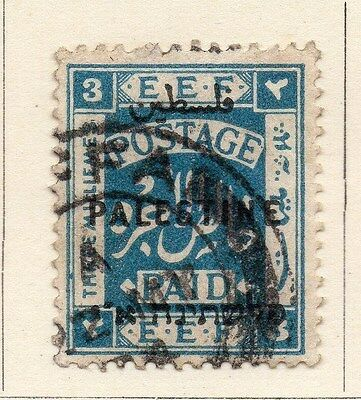 Palestine 1920-21 Early Issue Fine Used 3m. 138063