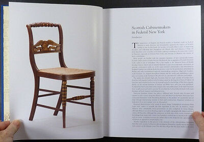 American Antique Scottish Cabinetmakers Furniture in Federal New York