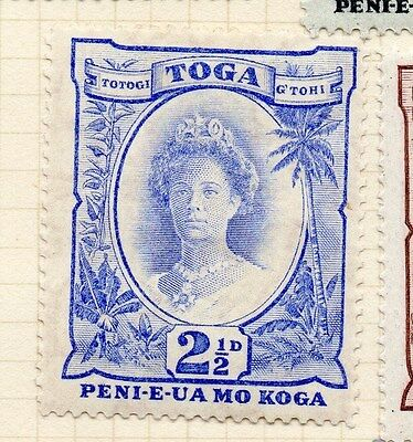 Tonga 1934 Early Issue Fine Mint Hinged 2.5d. 138600