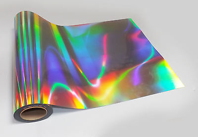 1m ROLL NEO CHROME EFFECT HOLOGRAPHIC IRIDESCENT STICKY BACK PLASTIC SIGN VINYL