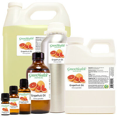 Grapefruit (Pink) Essential Oil 100% Pure Many Sizes Free Shipping