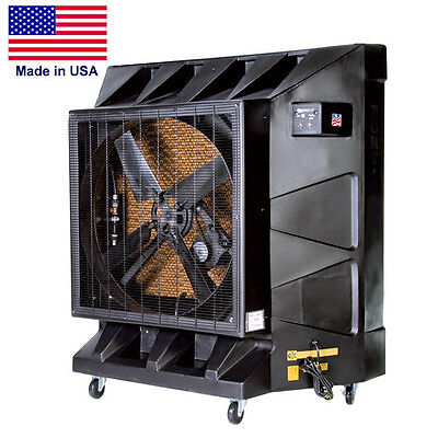 """36"""" Portable Air Conditioner - 32 Gal - 115 Volt - Kuul Pad - 9600 CFM - Cooling"""