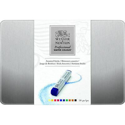 Winsor & Newton Professional Artist Watercolour Stick Set of 10