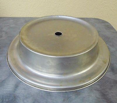 "Plate Cover  stainless steel Covers 12"" plates or Dishes"
