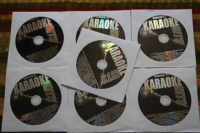 7 Cdg Lot Oldies Karaoke - Judy Garland,ben E King,andy Williams,bob Hope Cd+G
