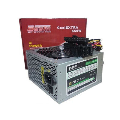 Besta CoolEXTRA 550W 120mm FAN Power Supply PSU