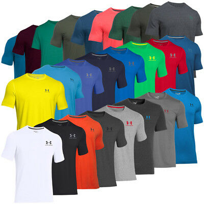 Under Armour Charged Cotton Sportstyle Left Chest Logo T-Shirt Herren Sport Tee