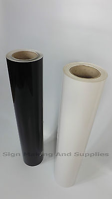 "5m 24"" Metamark Roll Gloss Self Adhesive Sign Making Vinyl Sticky Back Plastic"