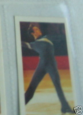 #40 john  curry ice skating  -  olympic Sport card