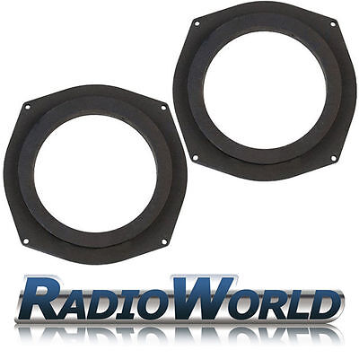 "BMW 1 3 5 Series MDF Underseat Suboofer 6.5"" Speaker Adaptors / Rings / Spacers"